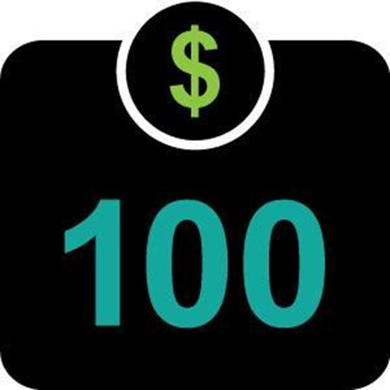 Picture of $100 Student Cash